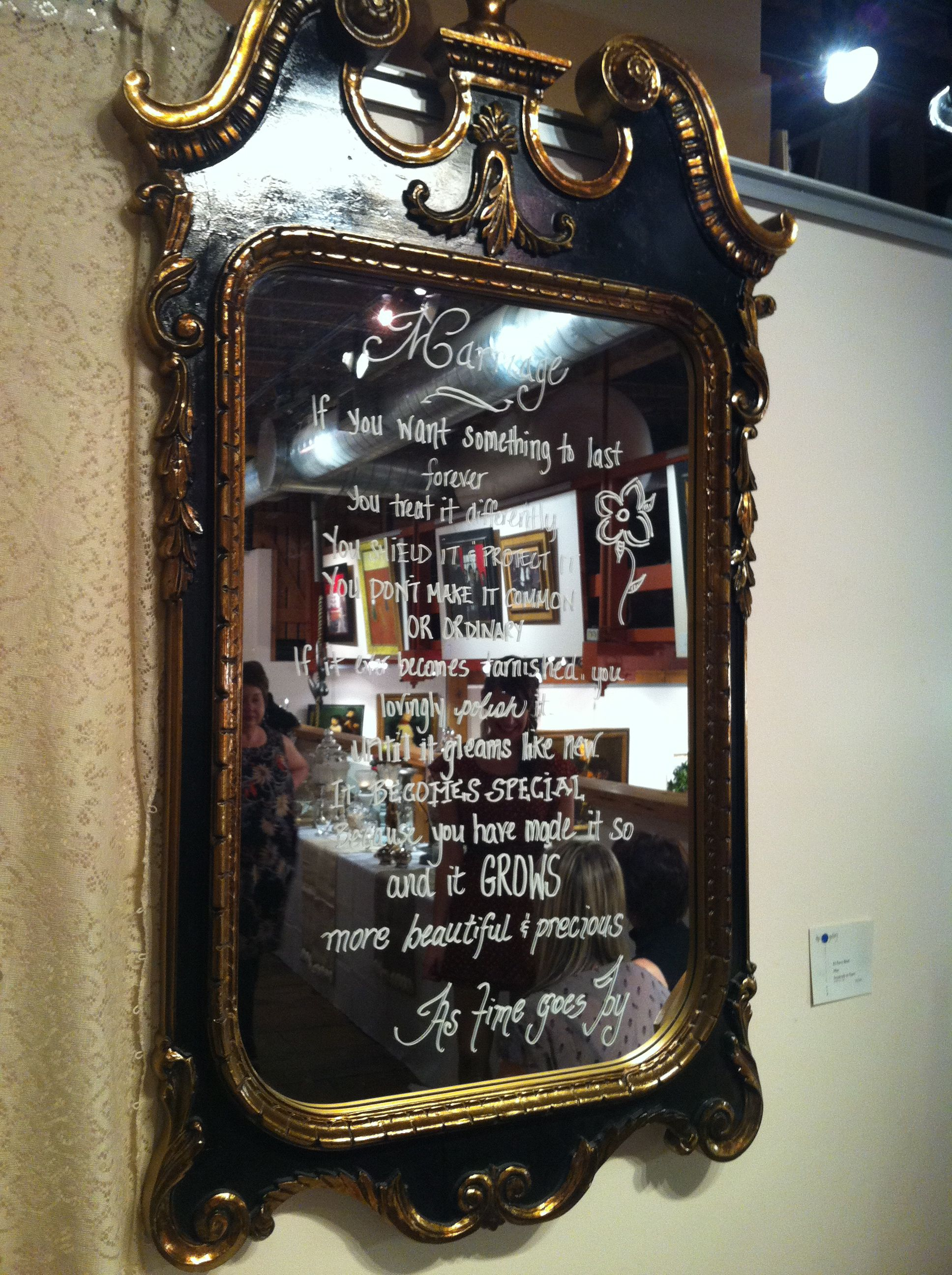 Use Old Mirrors To Write Notes