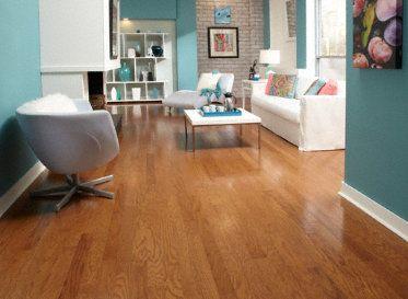 Behr Weathered Moss Honey Oak Hardwood Floors Hardwood Floor Colors Oak Hardwood Flooring Honey Oak Trim