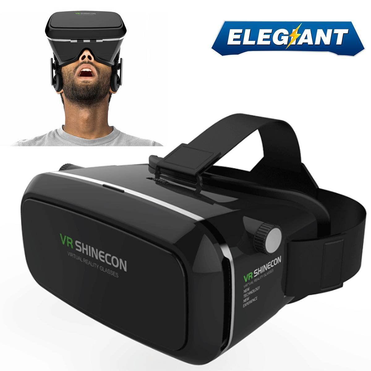 Elegiant 360 Viewing Immersive Virtual Reality 3d Vr Glasses