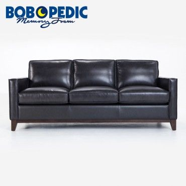 Tremendous Brayden Leather Sofa Probably Available In Gray Sofas I Pabps2019 Chair Design Images Pabps2019Com