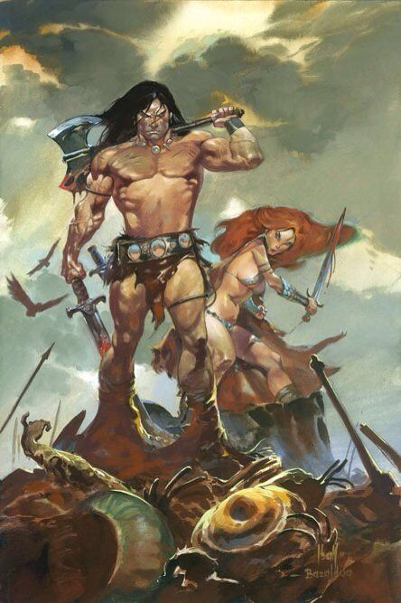 Conan the barbarian with women right!