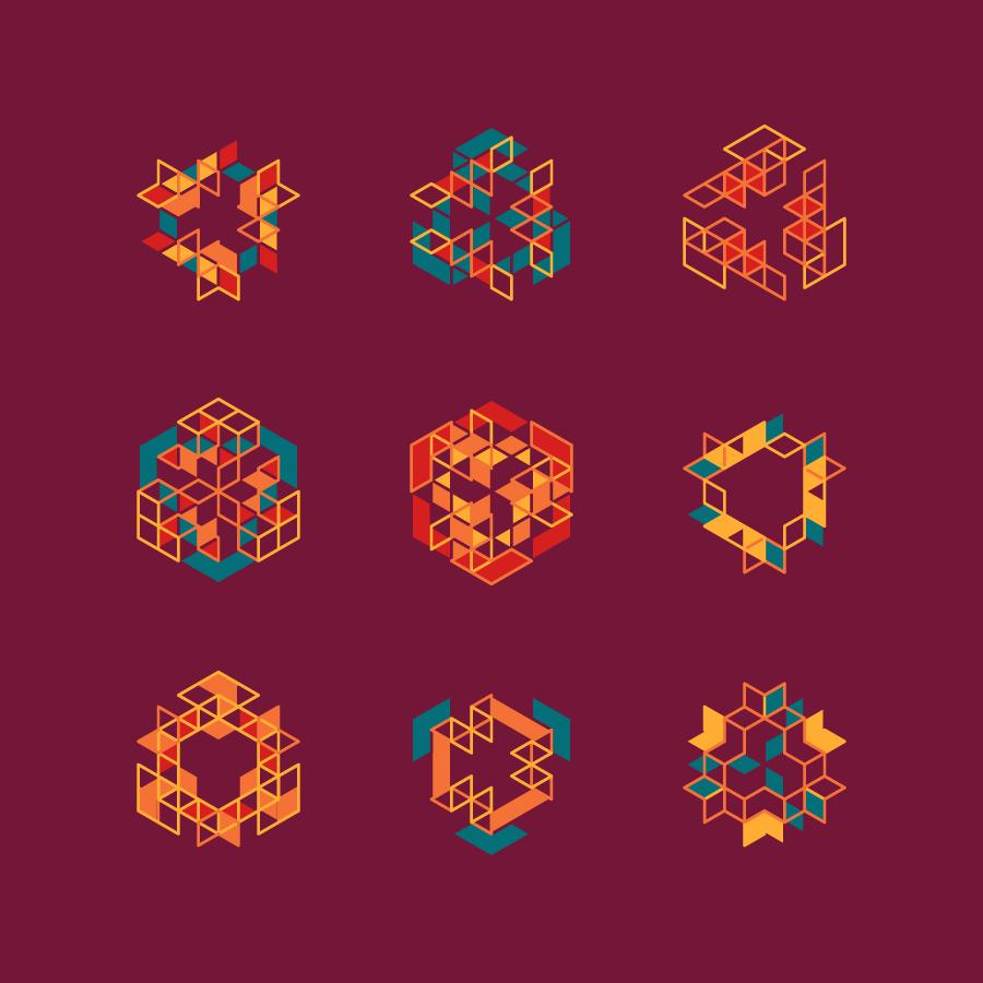 Geometric Shape Art Tumblr