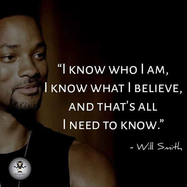 """I know who I am, I know what I believe and that's all I need to know."" ~ Will Smith, #Hollywood #FilmActor  Let's make your #brand famous through #SoloLionFilms. Call at +91 99108 33138 or send your query at Whatsapp 9899347594 or email at sololionfilms@gmail.com now.  #Video #Ads #Production #Editing #Cinema #ShortMovies #AdFilms #Direction"