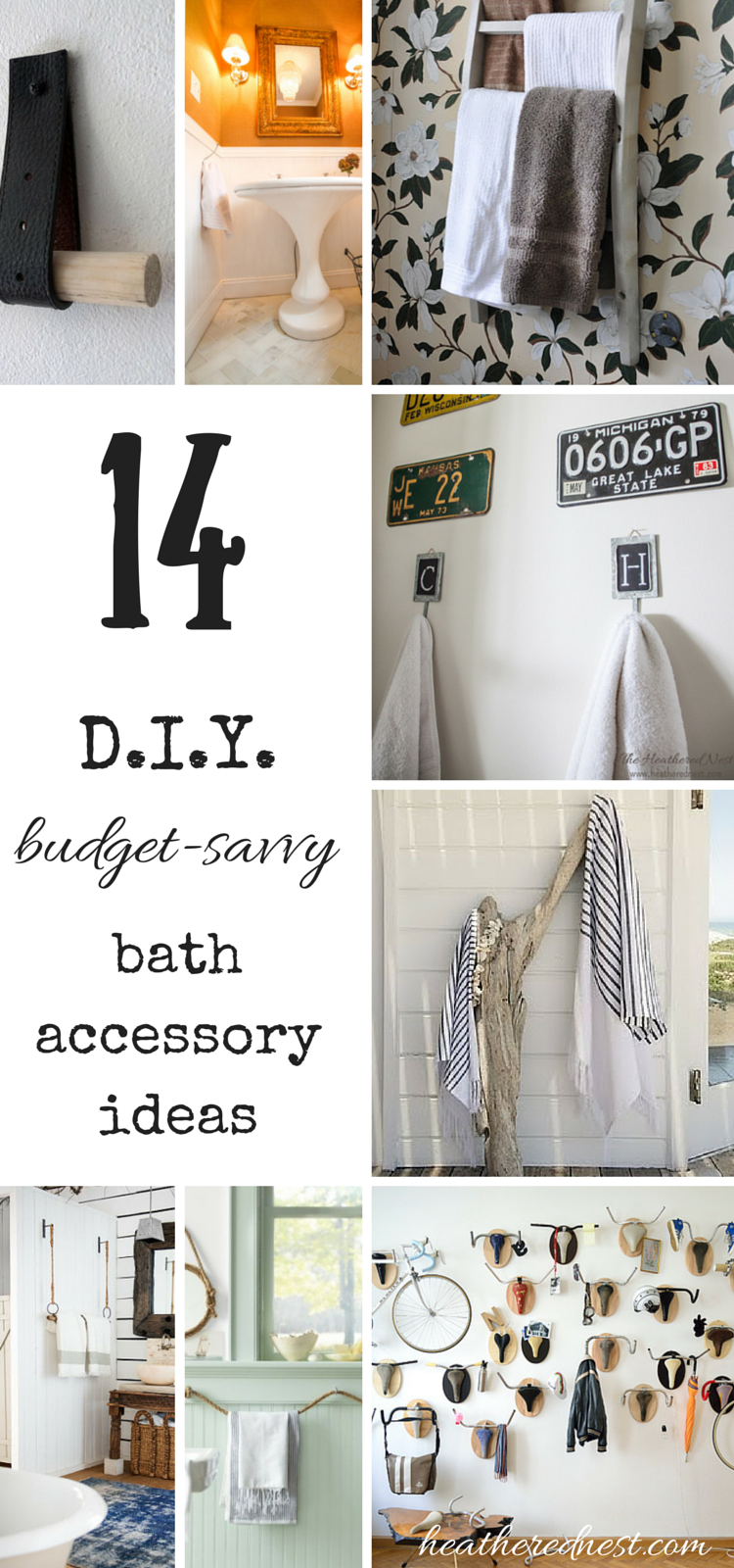 Throw in the Towel! Low-Budget & DIY Bathroom Ideas | DIY Home Decor ...
