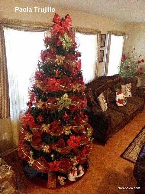Decoracion Arbol Navidad arbolitos de navidad Pinterest