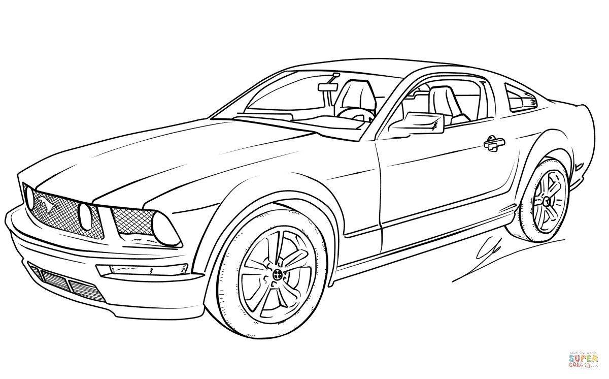 Pin Von Printable Coloring Pages Auf Malvorlagen Auto Zeichnungen Malvorlage Auto Ausmalen