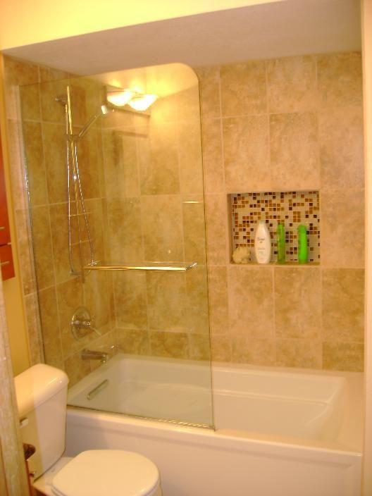 Bath Shower Partial Glass Google Search Tub Shower Doors Shower Tub Modern Glass