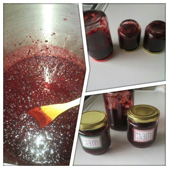 Home made Berry jam...jammie...bramen jam lekker..