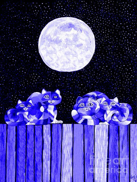 Full Moon Blues Cats, Nick Gustafson