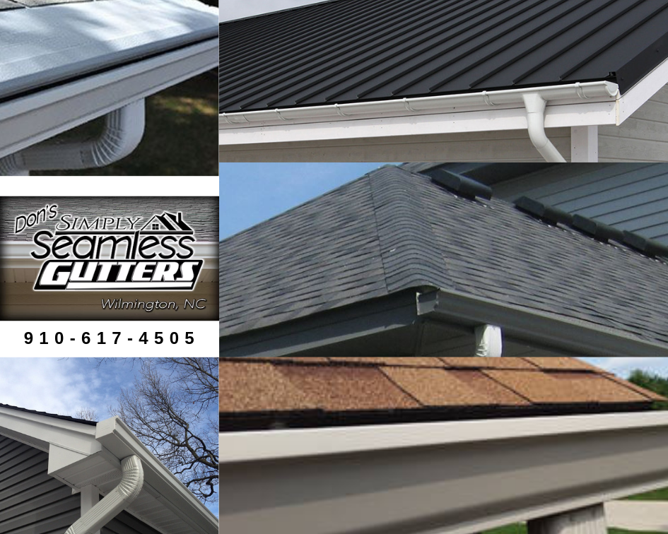 Wilmington Gutter Services How To Install Gutters Cleaning Gutters Gutter Repair