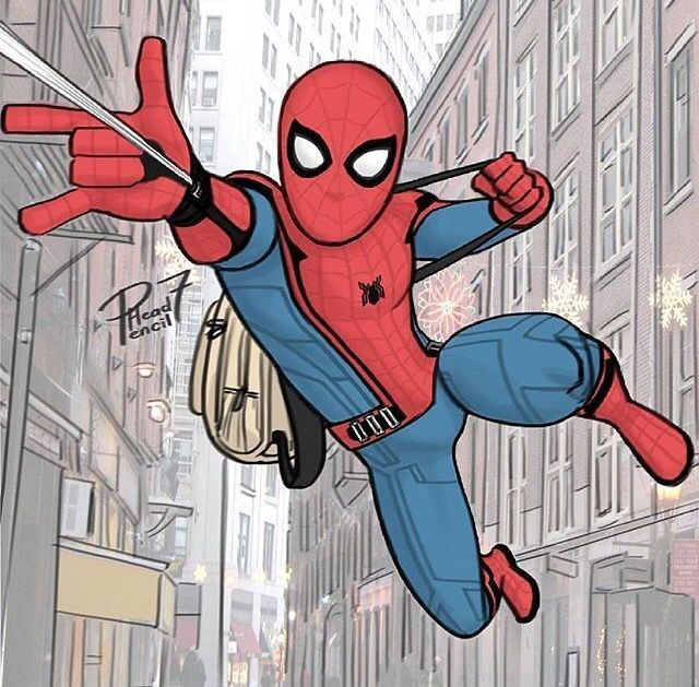 Image Result For How To Draw Spiderman From Spiderman Homecoming