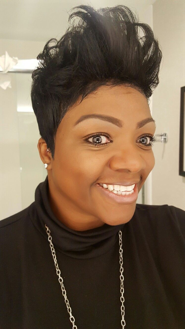 Pin by leticia meeks on short hair cuts for black women pinterest