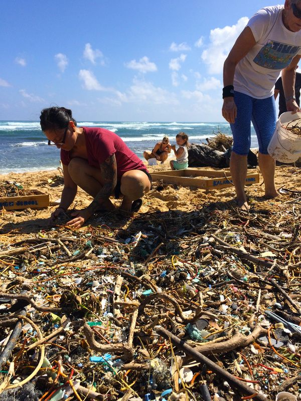 Kahuku Beach Clean Up 2016 Dirtiest Oahu Local Beaches