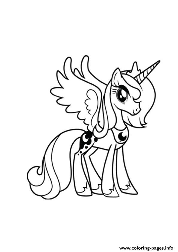 Print A Princess Luna my little pony coloring pages | sarah ...