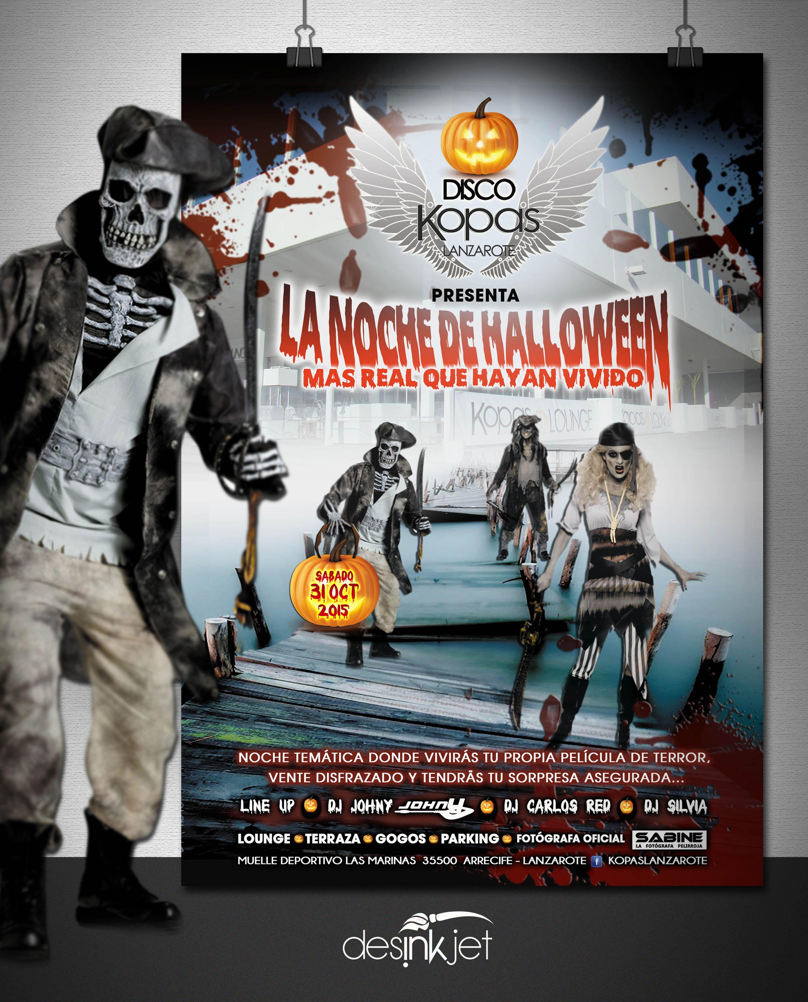 Diseño La Noche De Halloween Cliente Kopas Lanzarote