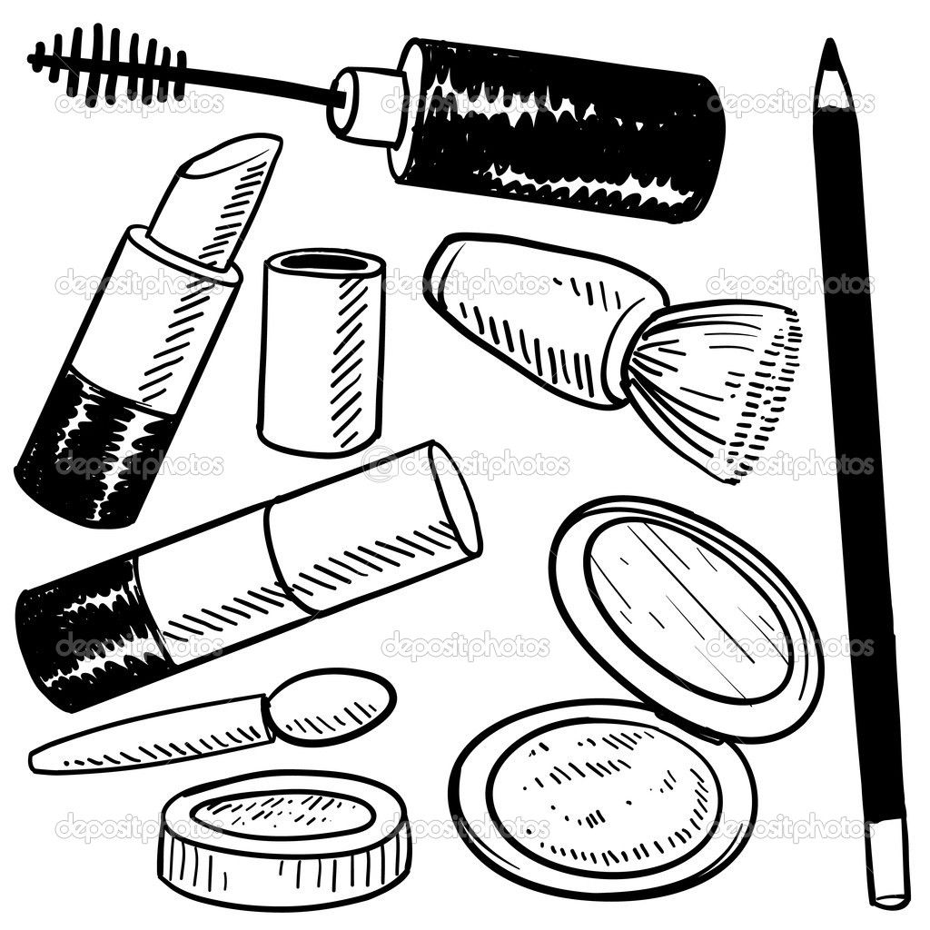 Makeup Coloring Pages To Download And Print For Free Birthdays