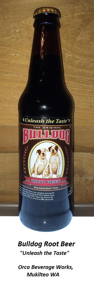 CASEY'S ROOT BEER REVIEW, Bulldog Root Beer Mildly rooty