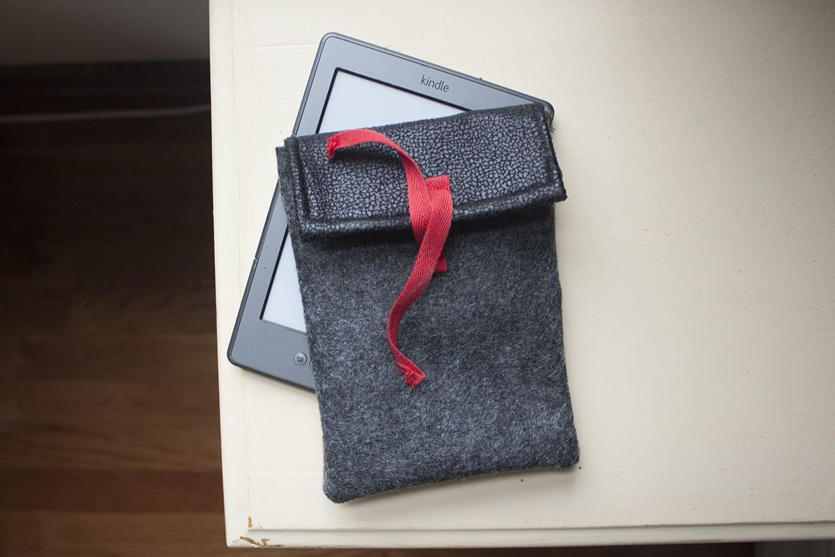 Make A Thing Sew Yourself A Butch Kindle Case