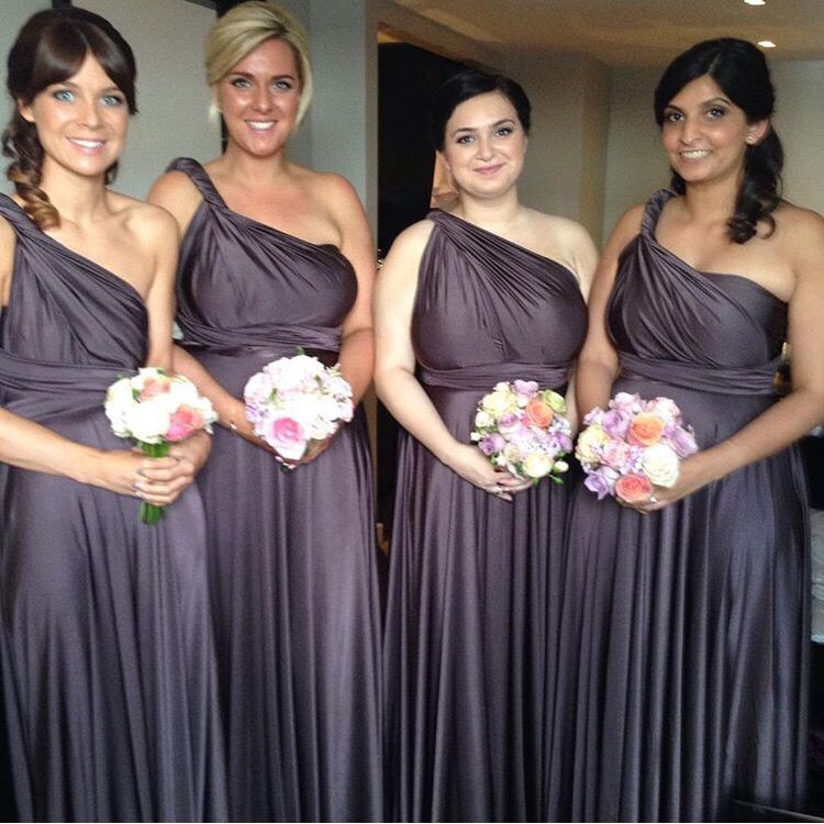 Two birds slate bridesmaid dresses | Our Wedding | Pinterest | Slate ...