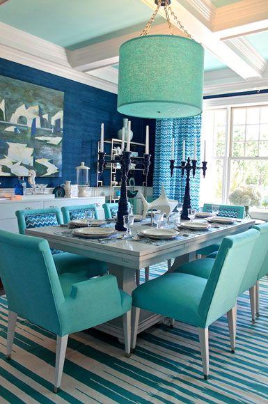 Kelly Wearstler Interior Design Bedrooms Kelly Wearstler Rhapsody Turquoise Dining Room Turquoise Room Aqua Dining Rooms