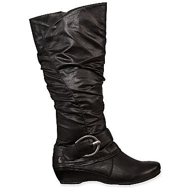 Yuu Syona Tall Slouch Boots Jcpenney Slouched Boots