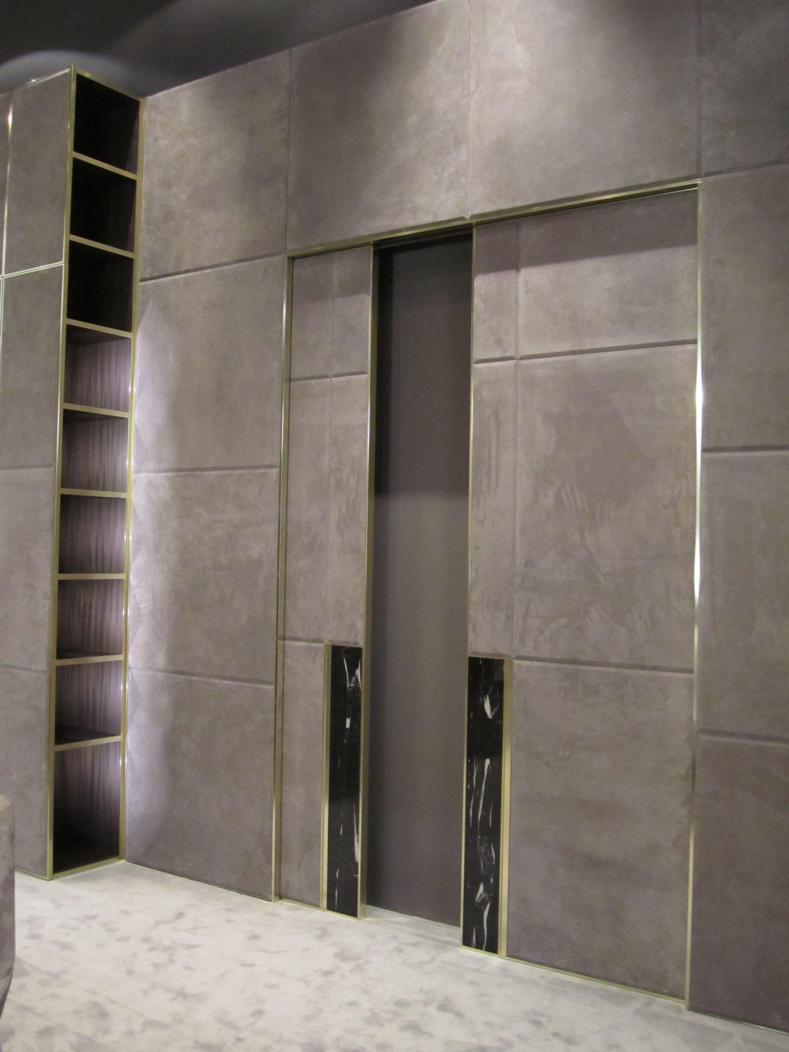Longhi doors furniture booth fiera milano 2012 doors for Wood design milano