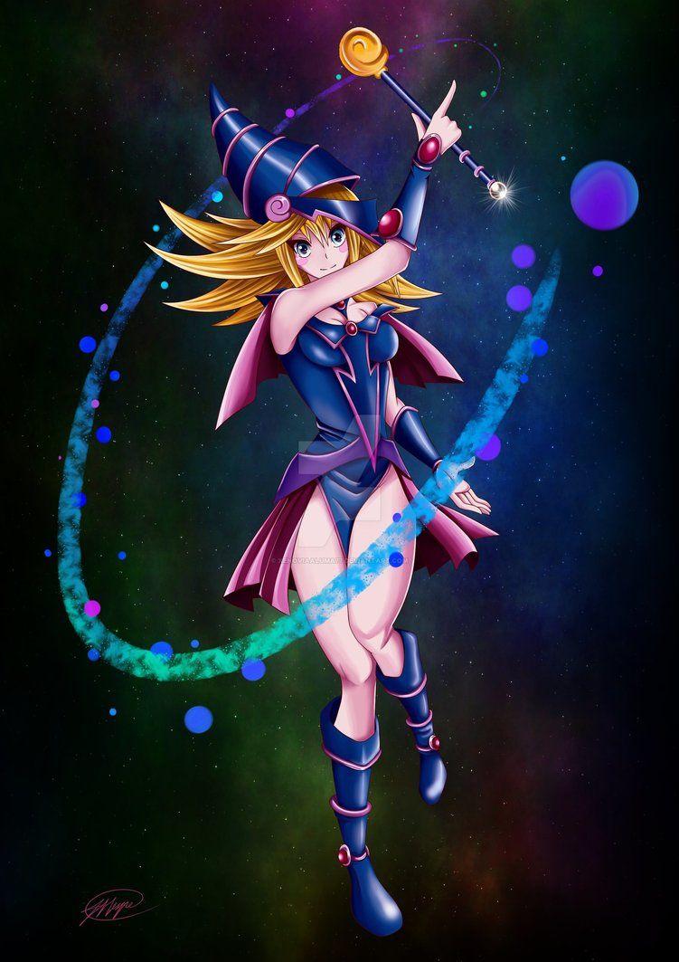 Dark Magician Girl! by XenoviaAluma77 | The magicians ...