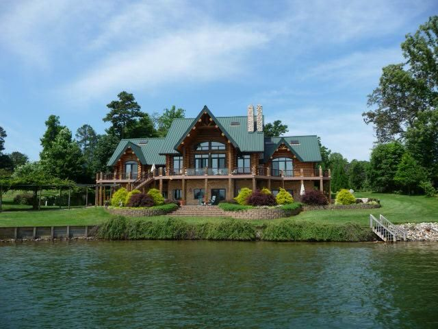 Wordless Wednesday Lake Norman Nc Log Cabin Houses Cabins