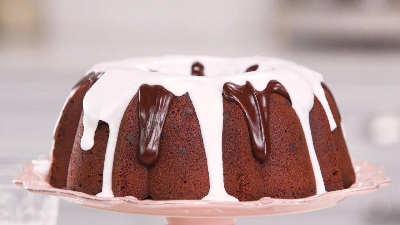 Triple Chocolate Buttermilk Pound Cake Recipe Recipe In 2020 Cake Recipes Chocolate Buttermilk Pound Cake Recipe Cake
