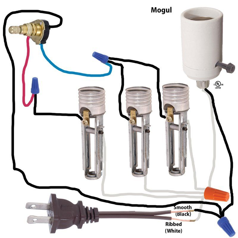 wiring diagrams lighting supplies candle covers lamp shade rh pinterest com Lamp Wiring Diagram Two Sockets Lamp Wiring Diagram Two Sockets