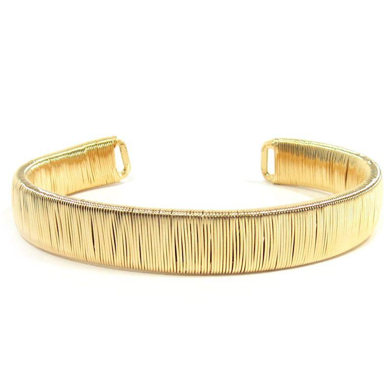 Bracelete dourado - R$ 109.90                              #bracelete #armparty #semijoias #lepetitmarche