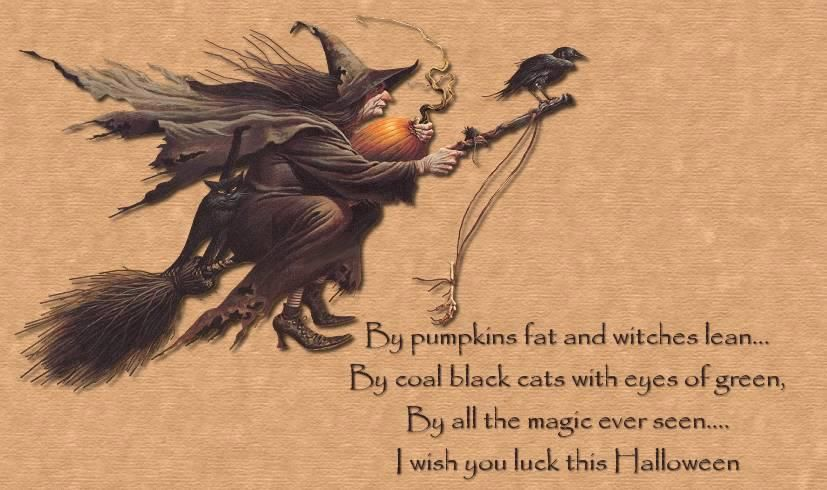 Samhain Blessings | Halloween poems, Halloween pictures, Vintage halloween  cards
