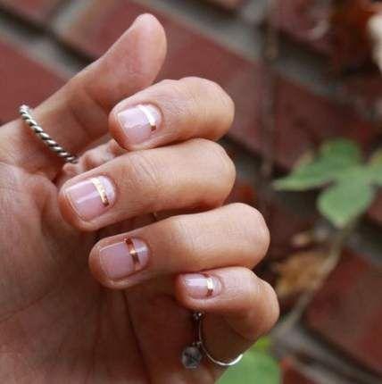 27 trendy nails art simple classy stripes  nail art