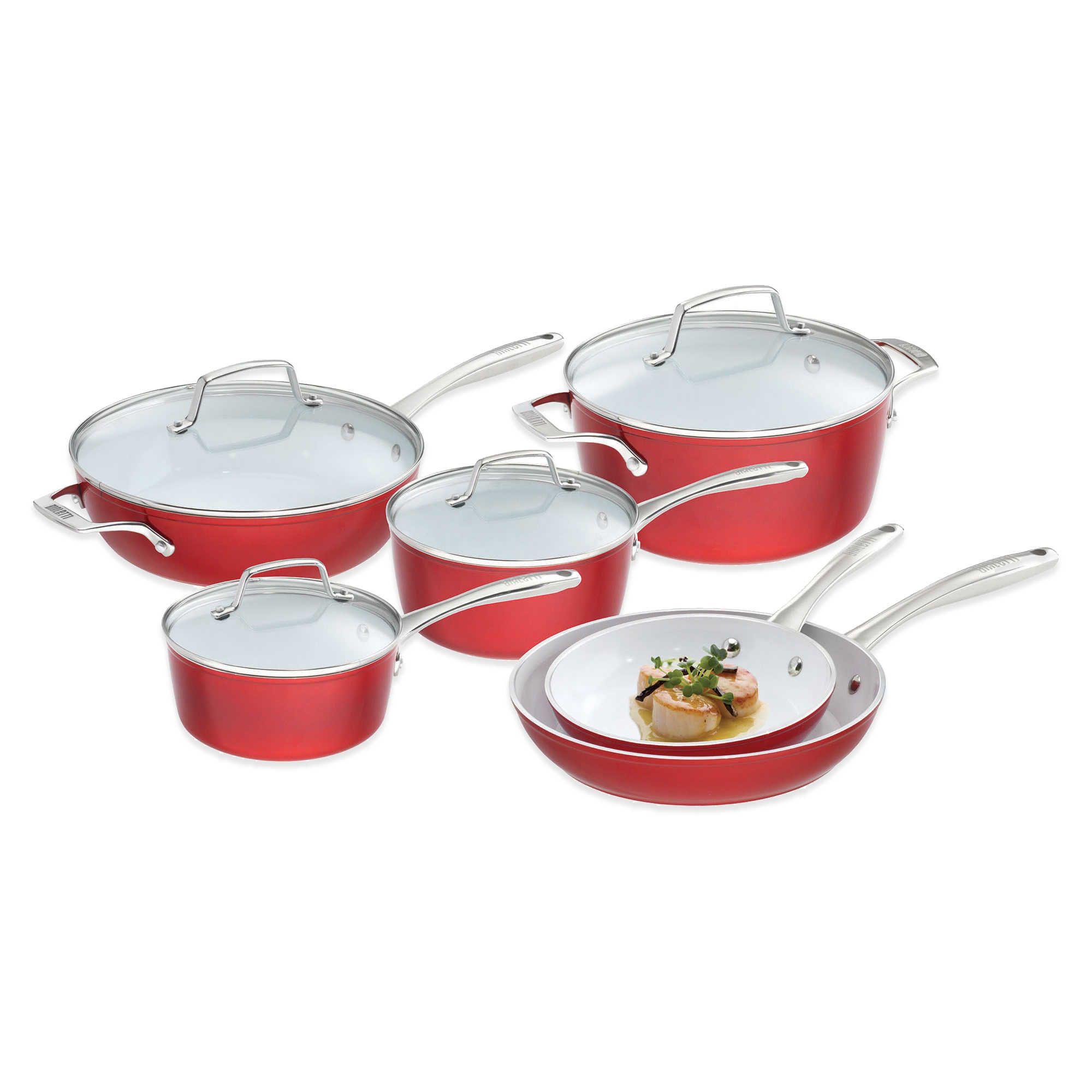 Bialetti® Aeternum Revolution 10Piece Cookware Set and