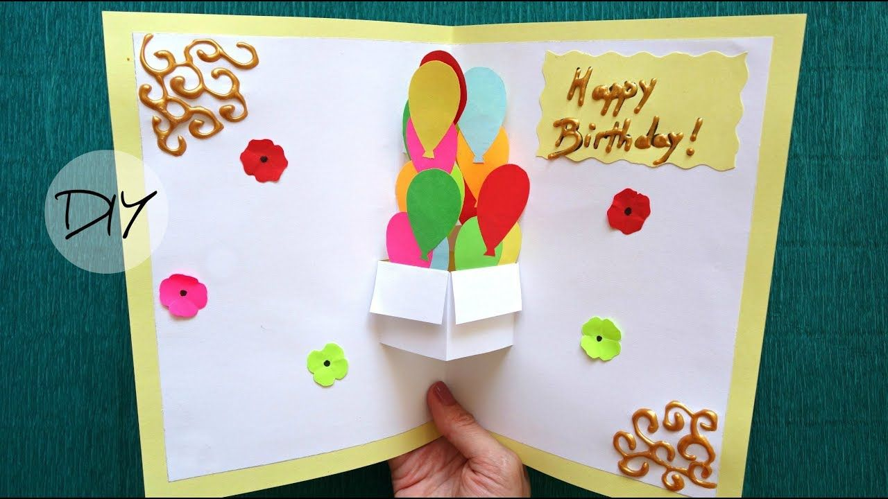 Mother S Day Pop Up Card Making Birthday Card Pop Up Diy