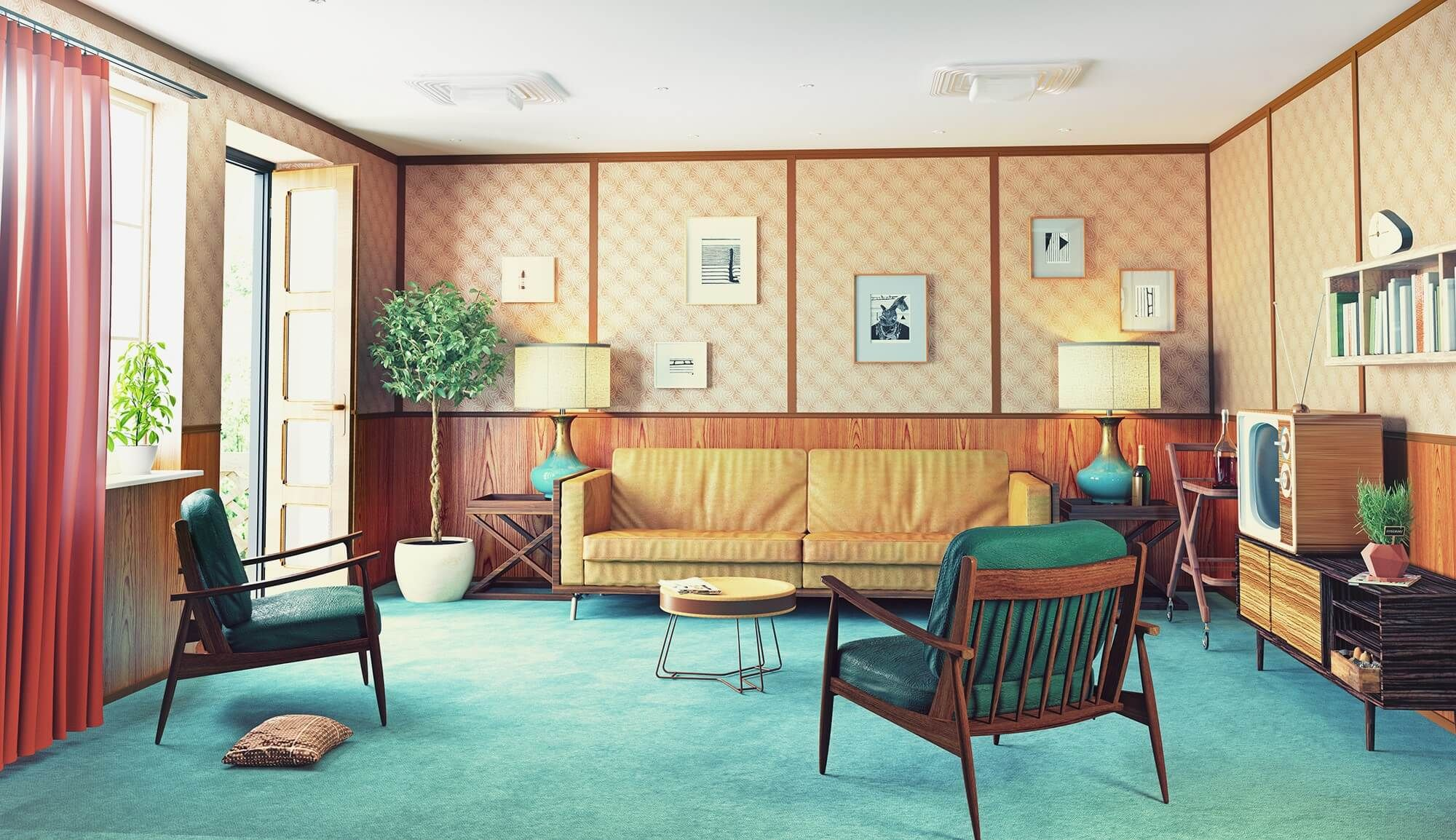 Your Guide To 1970s Furniture Design Retro Interior Design