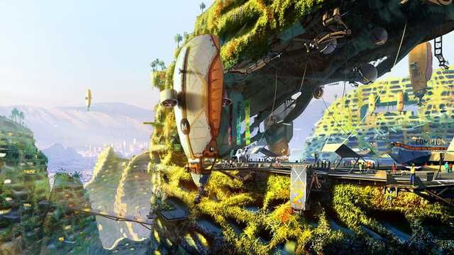 Article Solarpunk Wants To Save The World Hopes Fears Fantasy City Futuristic City City Wallpaper