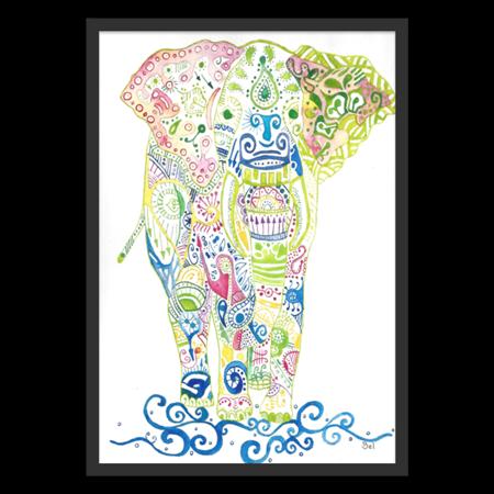 Poster Maia do Studio Dutearts por R$ 45,00
