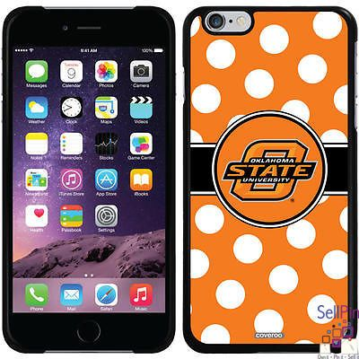 $24.00: Oklahoma State Cowboys iPhone 6 Plus Thinshield Snap-On Case (Polka Dots Design)