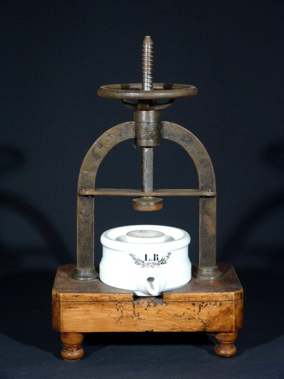 Antique for sale apothecarys press pharmacy tool