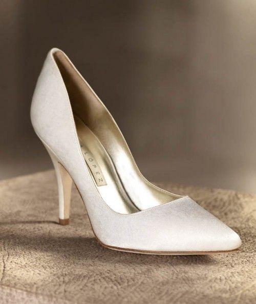 Zapatos para vestido de novia
