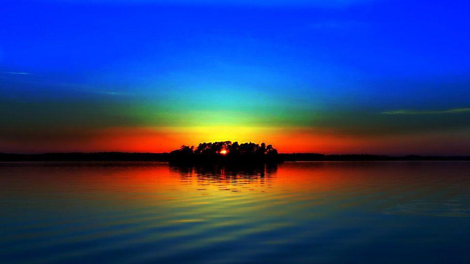 Scenic Sunset Wallpaper