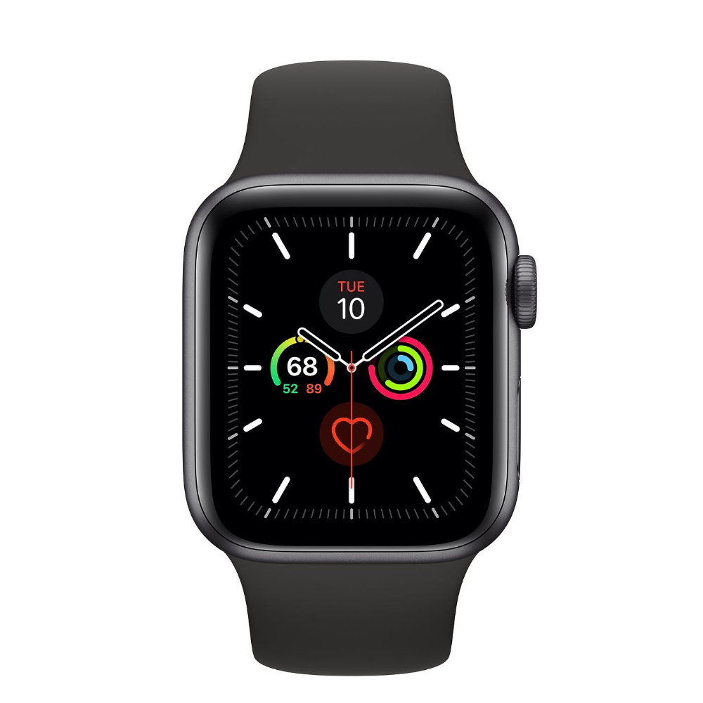 Apple Watch Series 5 Gps Cellular 40mm Space Gray Aluminum Case With Lemon Cream Sport Band Regular A Buy Apple Watch Apple Watch Apple Watch Space Grey