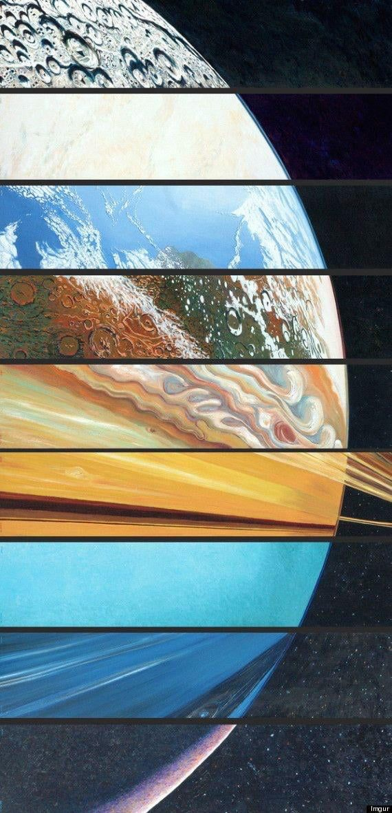 All The Planets, Aligned In One Beautiful Picture. v roku ...
