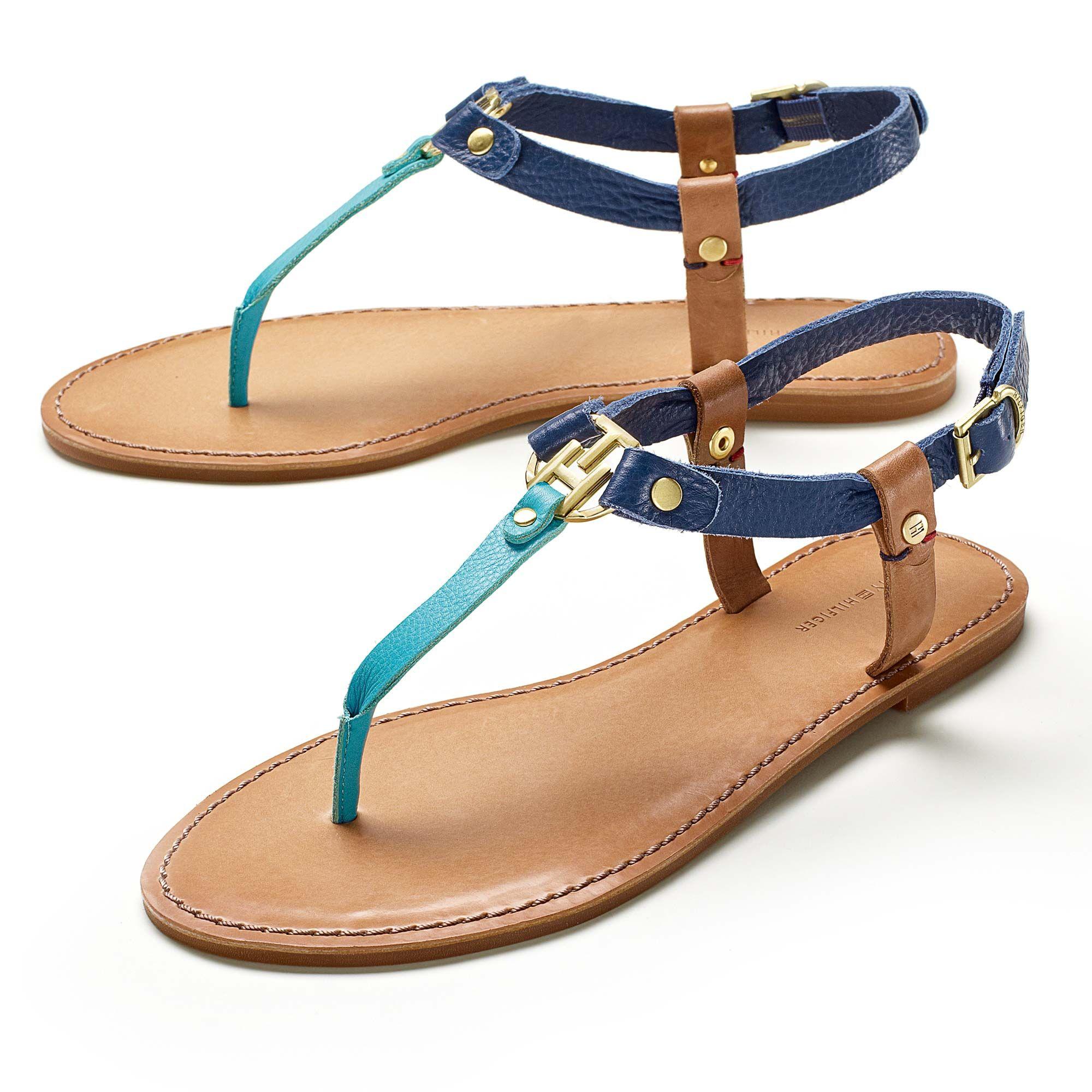 e536b8eaad657 Tommy Hilfiger sandals Nautical Shoes
