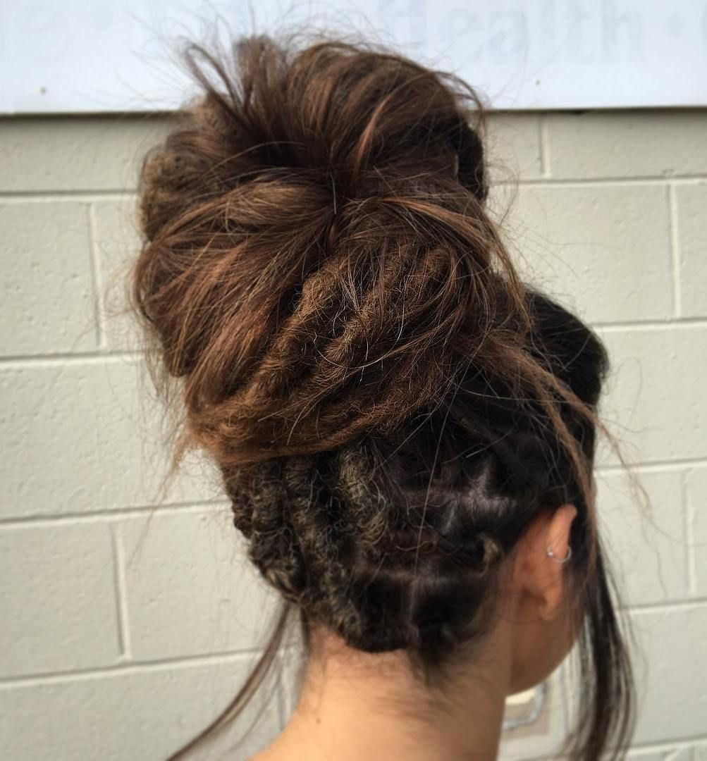30 Creative Dreadlock Styles For Girls And Women In 2019