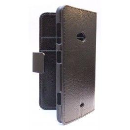 Lumia 625 musta lompakkokotelo