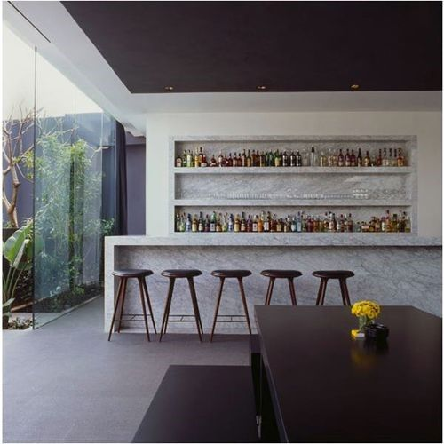 Indoor Home Bars: Modern Home Bar Designs