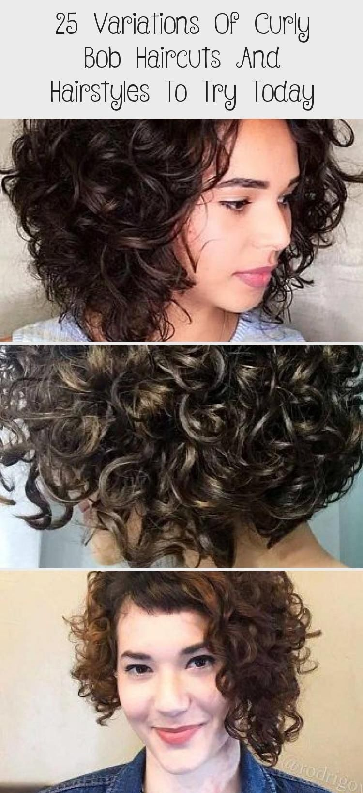 11 Variations Of Curly Bob Haircuts And Hairstyles To Try Today