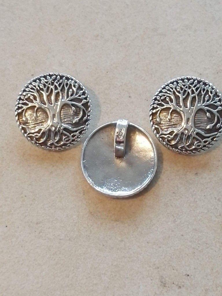 f529e261981 Yggdrasil vedhæng:i Sølv. 240 kr. Bronze 100 kr. 23 mm - Yggdrasil ...